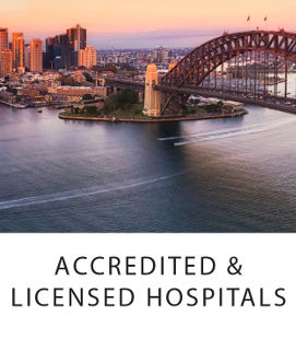Accredited and Licenced Hospitals